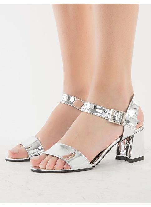 Mecrea Ayakkabı Gümüş